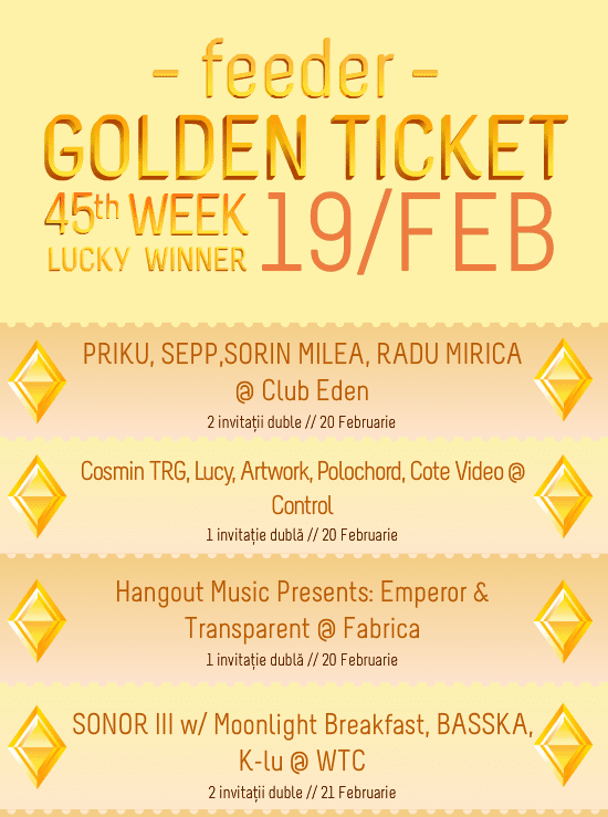 Golden Ticket W45