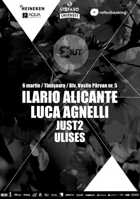 Ilario Alicante, Luca Agnelli, JUST2, Ulises @ BlackOut