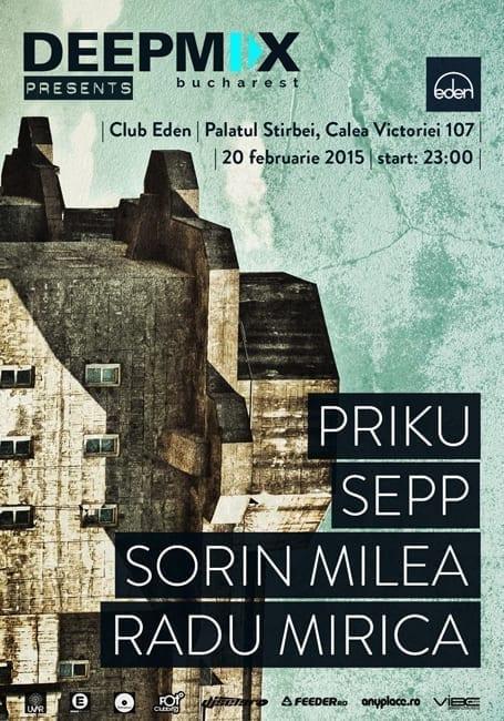 PRIKU, SEPP,SORIN MILEA, RADU MIRICA @ Club Eden