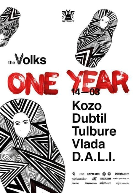 The Volks One Year @ Club Guesthouse