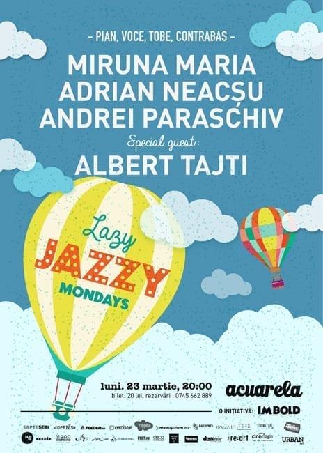 Jazzy Lazy Mondays #3 @ Acuarela