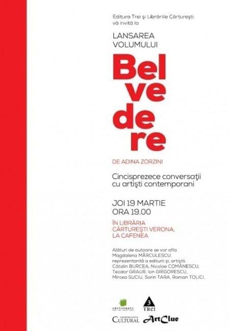 Adina ZORZINI - BELVEDRE @ Cărturești