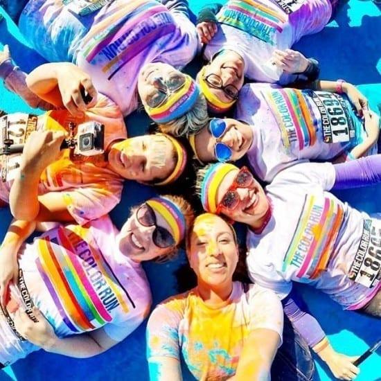 The Color Run Shine Tour 2015 @ Piata Constitutiei