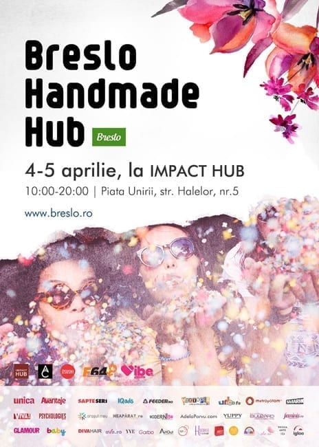 Breslo Handmade Hub, primul eveniment oficial Breslo.ro din ultimii 4 ani @ Mansarda Impact Hub