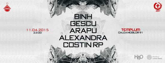 Binh, Gescu, Arapu, Alexandra, Costin RP @ Templum