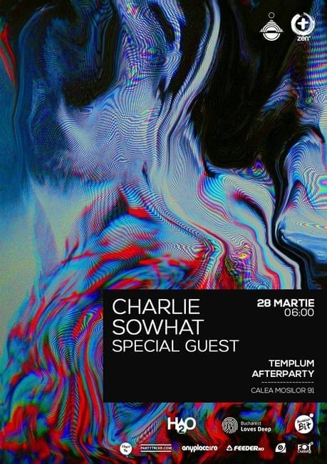 Afterparty w/ Charlie,  Sowhat + SPECIAL GUEST @ Templum