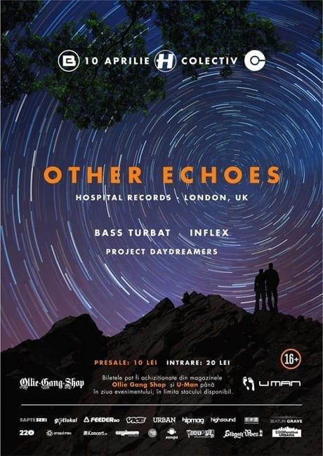Bass Culture prezintă: Other Echoes, Bass Turbat, InFlex, Project Daydreamers @ Club Colectiv