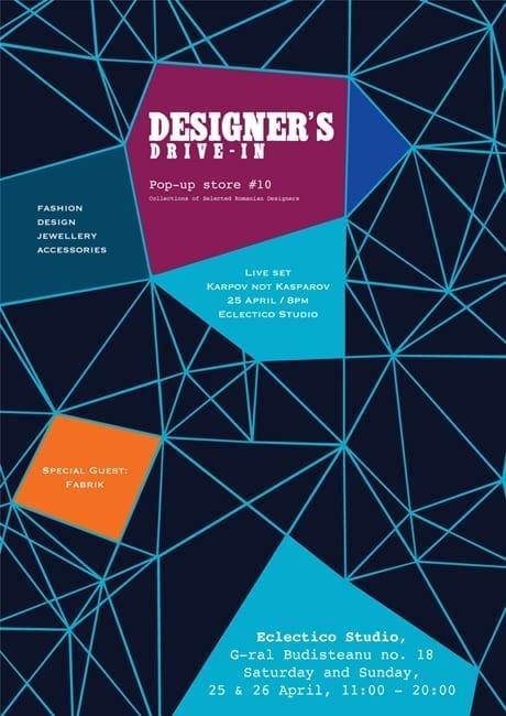 Designer's Drive-in #10 @ Eclectico Studio