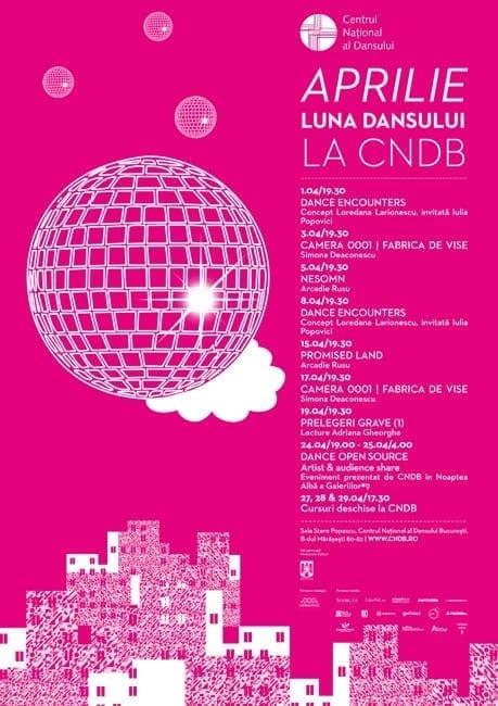 APRILIE – Luna Dansului la Centrul Național al Dansului București