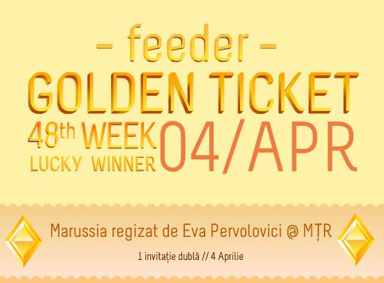 Golden Ticket - Marussia