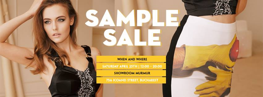 Murmur Sample Sale
