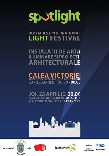 SPOTLIGHT - Festivalul Internațional al Luminii