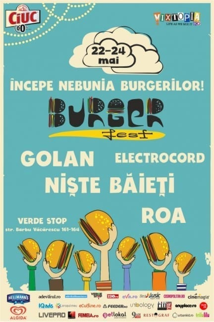 Prima ediție BURGERFEST @ Verde Stop