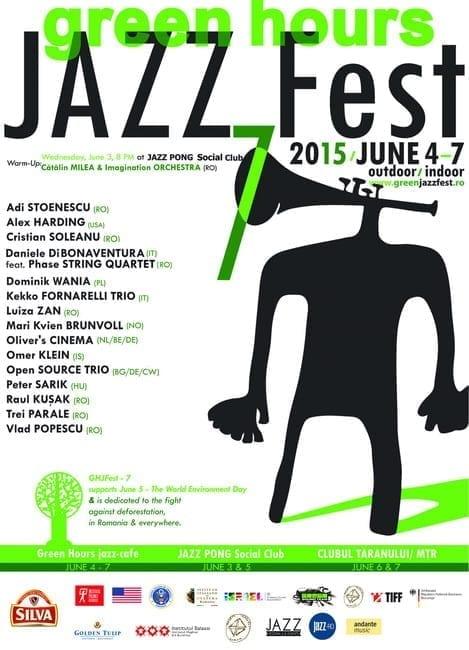 Green Hours JAZZ Fest, ediţia a 7-a