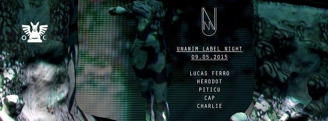Unanim Label Night - Lucas Ferro, Herodot, Cap, Piticu, Charlie @ Guesthouse