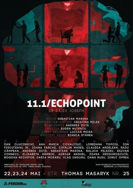11.1 (Echo Point) de Rajiv Joseph @ Thomas Masaryk 25