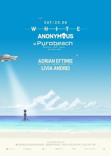 White Anonymous - Opening Party @ Puro Beach