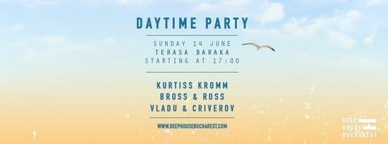 Deep House Bucharest daytime party @ Terasa Baraka