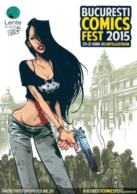București ComicsFest 2015 @ Lente & șotron