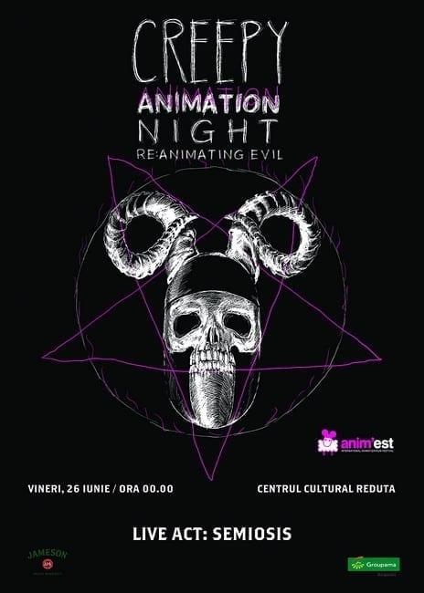 Creepy Animation Night Braşov