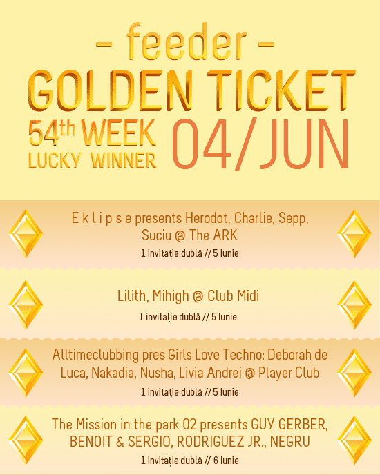 Golden Ticket W54