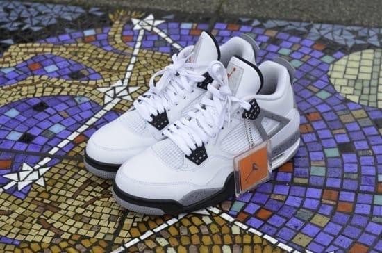 O sole mio: #22 Air Jordan 4 White Cement 2012