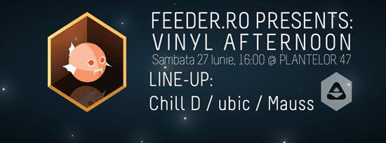 feeder pres: Vinyl afternoon @ Plantelor
