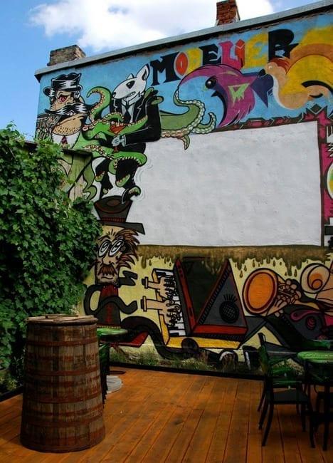 Modelier graffiti