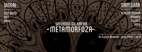 Weekend cu Kafka Metamorfoza