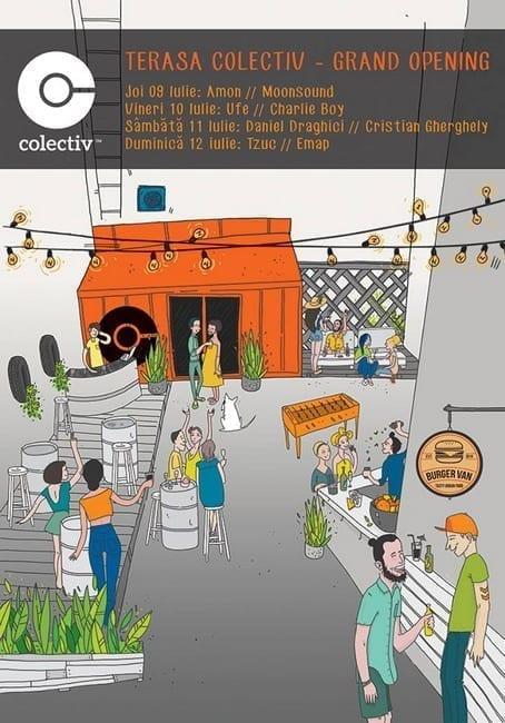 Opening Weekend terasa Colectiv