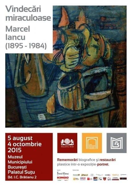 Vindecări miraculoase - Marcel Iancu (1895-1984) @ Palatul Suţu