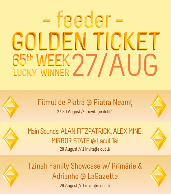 Golden Ticket W65 - events