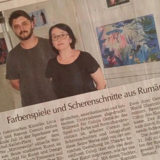 Expoziţie Livia Coloji & Razvan Cornici