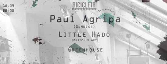 Music Is Art Showcase w/ Paul Agripa, Little Hado, Greenhouse @ Bicicleta