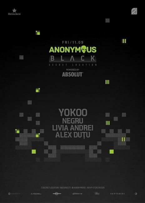 Black Anonymous Second Edition w/YokoO @ Secret Venue