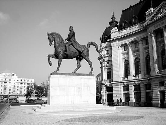 """Regele Ferdinand, Carol I de România"" - Ivan Mestrovic"