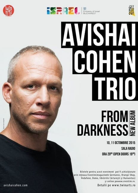 Avishai Cohen Trio la Jazz Night Out! @ Sala Radio