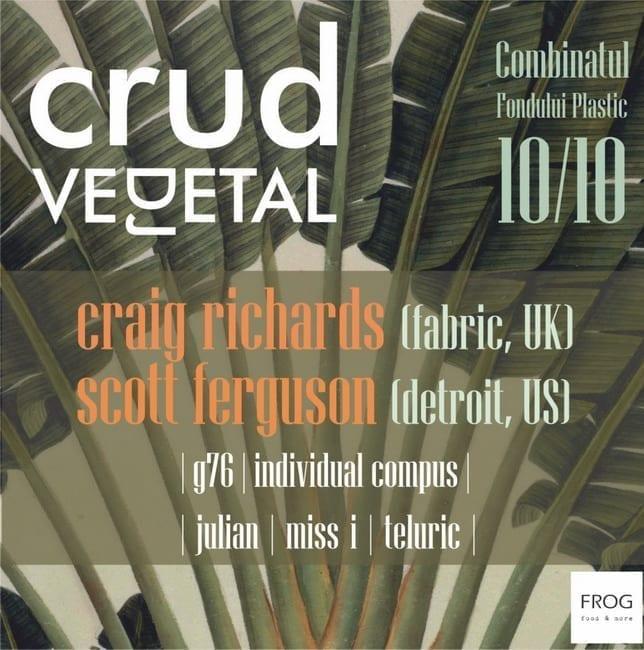 CRUD, veDJetal party w/ Craig Richards (fabric, UK)