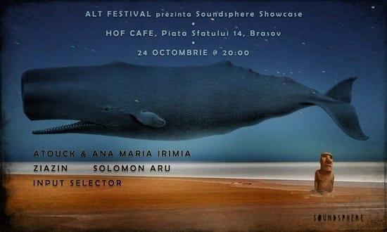 Soundsphere Showcase. Input Selector [ALT Festival] @ HOF CAFE, Brașov