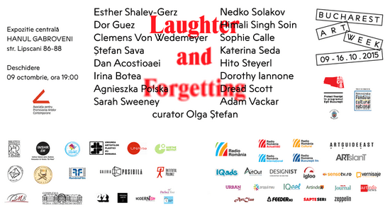 BUCHAREST ART WEEK 2015: LAUGHTER AND FORGETTING