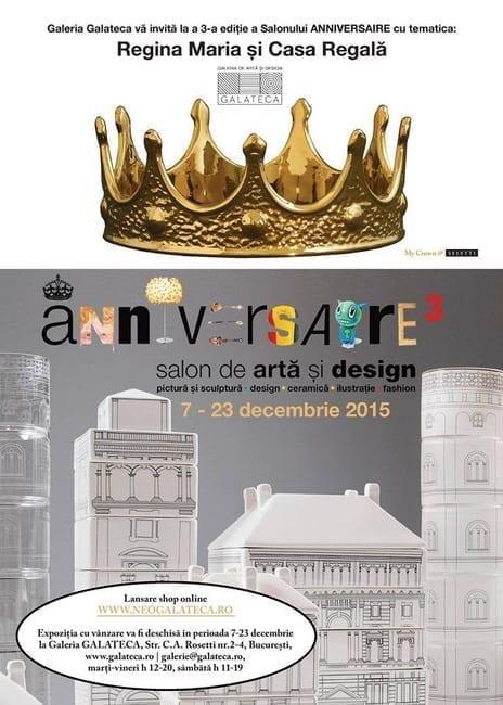 Salonul de design şi artă contemporană - Anniversaire - ediţia a treia
