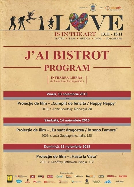 Love is in the Movie @ J'ai Bistrot