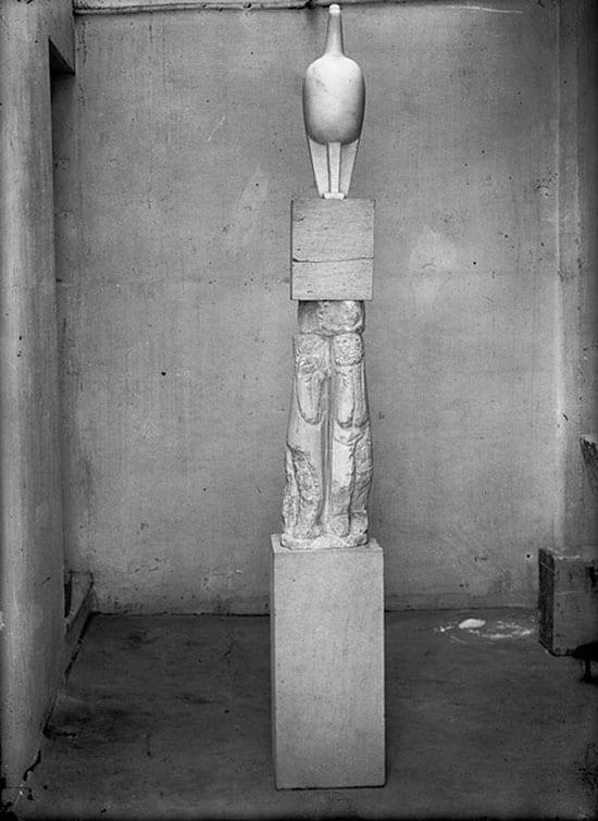 Brâncuși Măiastra 1910-1912 marble