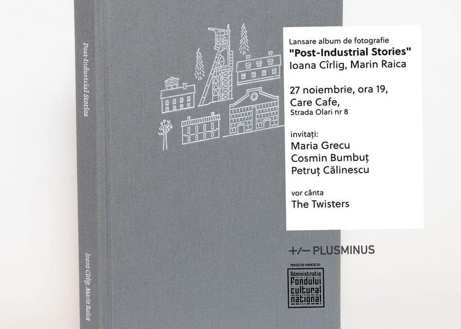 """Lansare de carte """"Post-Industrial Stories"""" @ CARE Cafe"""