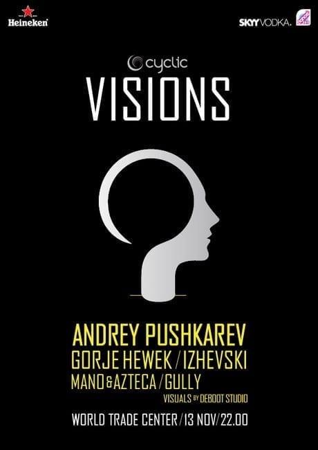 VISIONS w/ Andrey Pushkarev, Gorje Hewek & Izhevski
