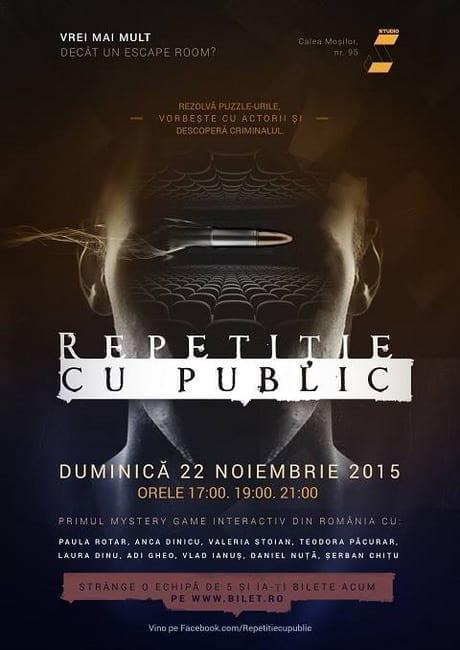 Repetitie cu public @ STUDIO