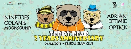 TEDDY BEAR 3rd ANNIVERSARY @ Kristal Glam Club