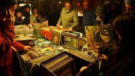Targ Vinyl Disc Editia a II a @ Blue Note Cafe