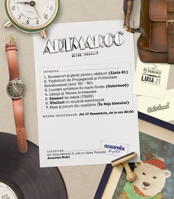 Artmaroc – retro magazin @ Acuarela Bufet
