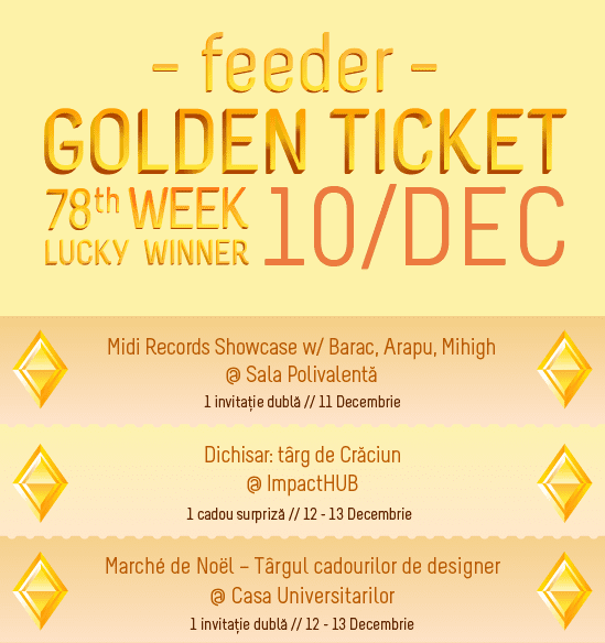 Golde Ticket W78 events
